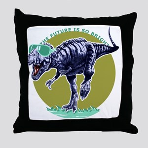 trexshades_smalls Throw Pillow