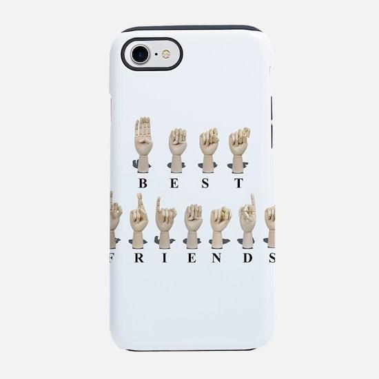 BestFriendsAmeslan062511.png iPhone 7 Tough Case
