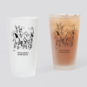 8136_breeding_cartoon Drinking Glass