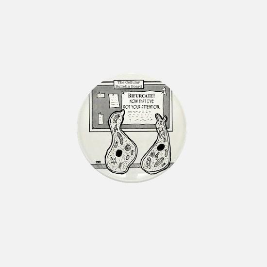 1934_biology_cartoon Mini Button