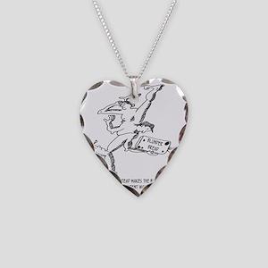 1977_bread_cartoon Necklace Heart Charm