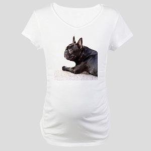 french bulldog a Maternity T-Shirt