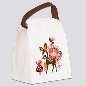 mouse03 Canvas Lunch Bag
