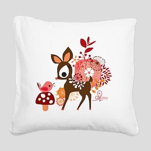 mouse03 Square Canvas Pillow