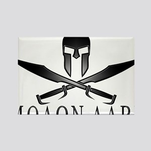 Spartan_Helmet__Swords_Crossed_Ou Rectangle Magnet
