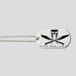 Spartan_Helmet__Swords_Crossed_Outline_Gr Dog Tags