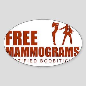 +freemammo Sticker (Oval)