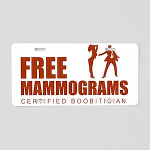+freemammo Aluminum License Plate