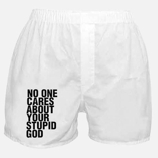 +frestupidgodwhite Boxer Shorts
