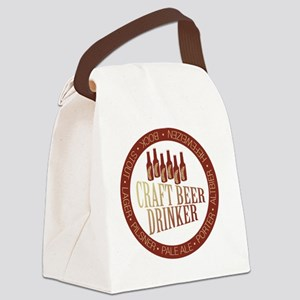 craftbrew1 Canvas Lunch Bag