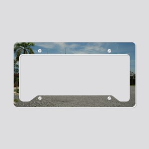 Hatyai Temple License Plate Holder