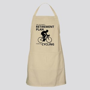 Cyclist Retirement Plan Light Apron