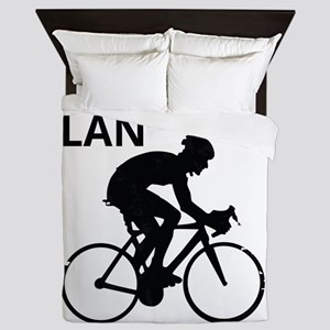 Cyclist Retirement Plan Queen Duvet