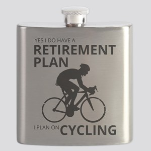 Cyclist Retirement Plan Flask