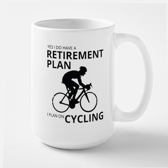 Cyclist Retirement Plan Mugs