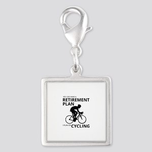 Cyclist Retirement Plan Charms