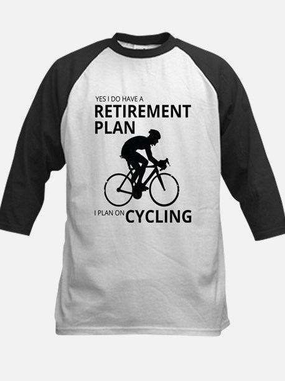 Cyclist Retirement Plan Baseball Jersey