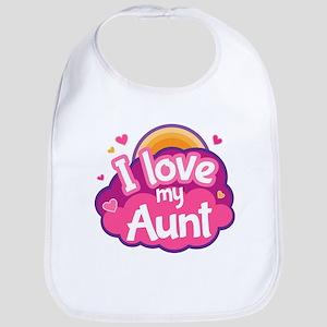 I Love My Aunt Baby Bib