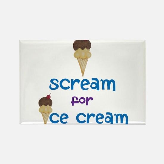 I scream for Ice Cream! Magnets