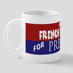 French Bulldog_ELECTION STICKER Mug
