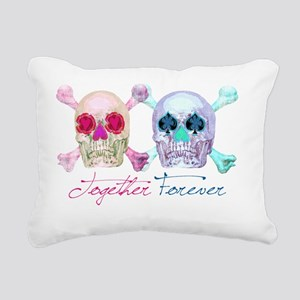together_forever Rectangular Canvas Pillow
