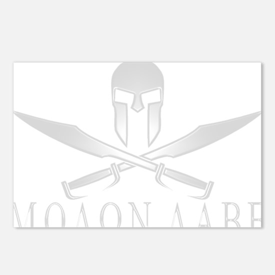 Spartan_Helmet__Swords_Cr Postcards (Package of 8)