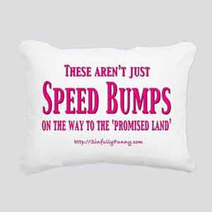 SpeedBumpsSm Rectangular Canvas Pillow