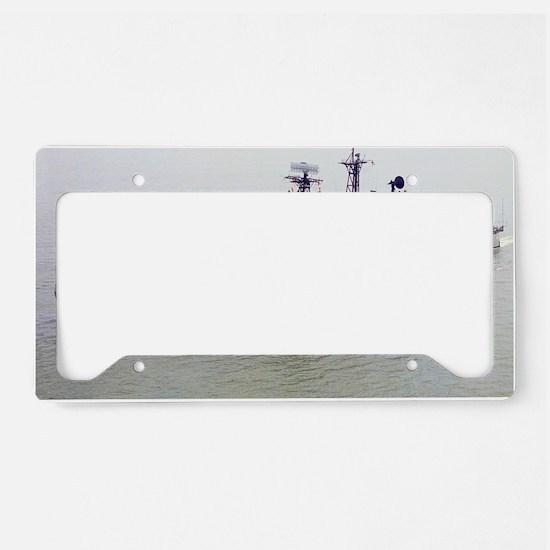 lrock framed panel print License Plate Holder