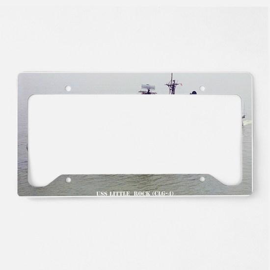 lrock large framed print License Plate Holder
