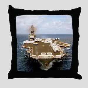 america cv framed panel print Throw Pillow