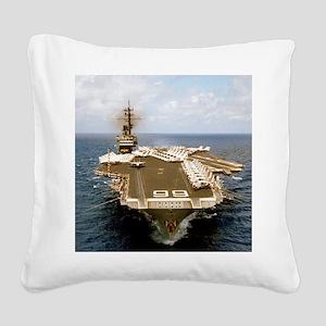 america cv framed panel print Square Canvas Pillow