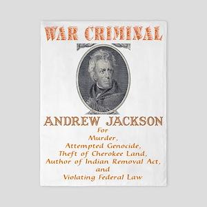 A Jackson - War Criminal Twin Duvet