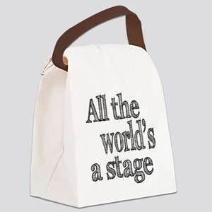 all the world light Canvas Lunch Bag