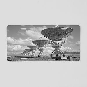 VLA 4-08 Poster Aluminum License Plate