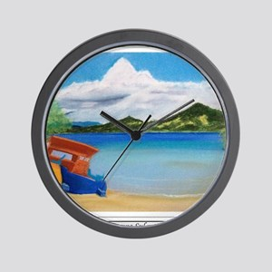 Serene Sulawesi shirt Wall Clock