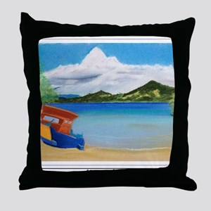 Serene Sulawesi shirt Throw Pillow