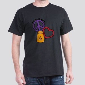 gold multi, PL Cups Dark T-Shirt
