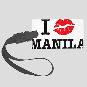 MANILA_shirt Large Luggage Tag