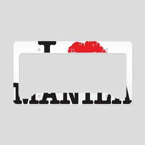 MANILA_shirt License Plate Holder