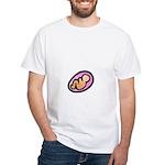 Carrying a Girl White T-Shirt