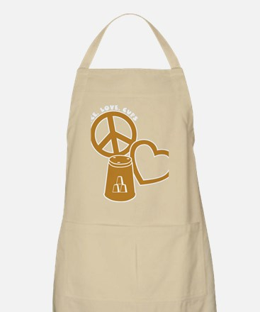 gold 2 PL Cups Apron