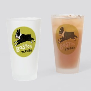 BOSTONTERRIERfordrk Drinking Glass