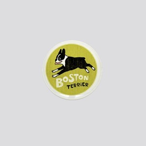 BOSTONTERRIERfordrk Mini Button