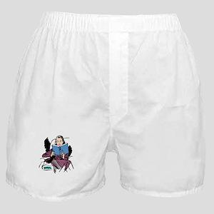 ReadingIsSexyWht Boxer Shorts