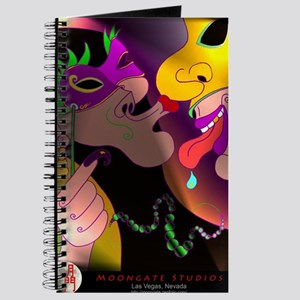 A Kiss at Mardi Gras with MG logo Journal