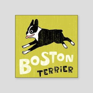 "bostonwallet Square Sticker 3"" x 3"""
