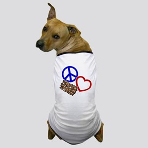 blue red, wh PL Bacon Dog T-Shirt