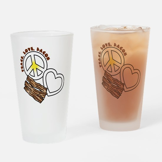 white, PL Bacon Drinking Glass
