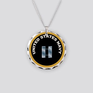Lieutenant Necklace Circle Charm