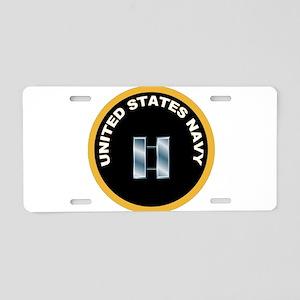 Lieutenant Aluminum License Plate